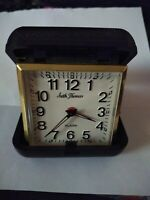 Seth Thomas Travel Alarm Clock In Case