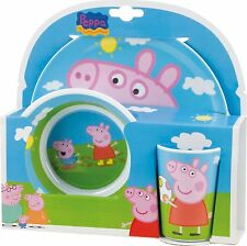Peppa Pig 2 Melamine Plates and Cup Set