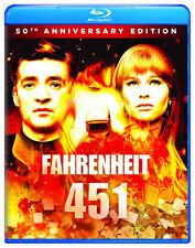 PRE ORDER: FAHRENHEIT 451 (50TH ANNIVERSARY EDITION) - BLU RAY - Region A