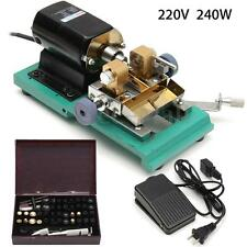 220V 240W Pearl Drilling Holing Machine Driller Full Set Jewelry Punch Tools