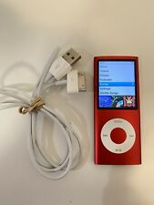 Apple iPod nano 4th Generation - Chromatic Red (8 GB)