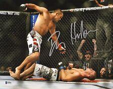 Dan Henderson Signed 11x14 Photo BAS Beckett COA UFC 100 Bisping KO Picture Auto