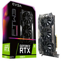 EVGA GeForce RTX 2080 Ti FTW3 ULTRA GAMING, 11G-P4-2487-KR, 11GB GDDR6, iCX2
