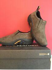 Merrell Jungle Moc Hombre Zapatos Para Caminar Senderismo Marrón Size Uk 12 Totalmente Nuevo Con Caja