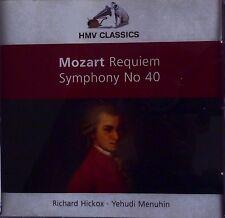 MOZART – REQUIEM: RICHARD HICKOX + SYMPHONY NO 40: YEHUDI MENUHIN – HMV CD 2005