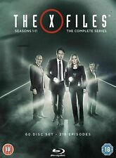 The X-Files: The Complete Collection - Season 1 - 11 [Blu-ray + Box Set] New!!