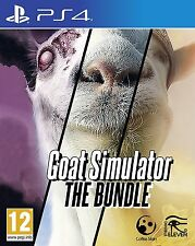 Goat Simulator: The Bundle [PlayStation 4 PS4, Animal & Goatz & MMO Add-ons] NEW