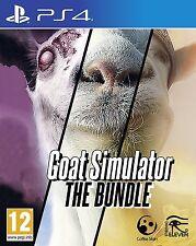 Goat Simulator: The Bundle [PlayStation 4 PS4, Animal, Goatz & MMO DLC Add-ons]