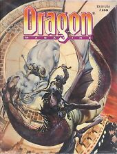 TSR Dragon Magazine #189 AD&D Dungeons and Dragons Warriors & Wizards World Tour