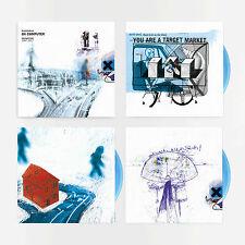 RADIOHEAD OK COMPUTER OKNOTOK 3 x OPAQUE BLUE LP VINYL SOLD OUT