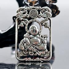 Collection of Chinese silver handmade Maitreya Buddha