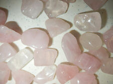 Tumbled Stone Rose Quartz Crystal Stone 5 to 12 g small size pieces 30 gram Lot