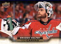 2015-16 Upper Deck Canvas #C206 BRADEN HOLTBY  Capitals