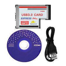 54mm Express Card ExpressCard to 3 Port USB 3.0 Adapter for Laptop Superspeed