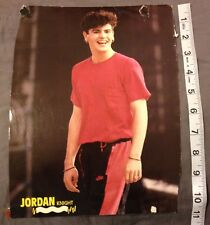 Jordan Knight poster pinup 8x10 inches New Kids On The Block Nkotb