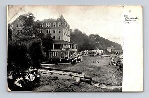 Postcard MD Betterton Maryland The Chesapeake Inn Hotel c1910s T22