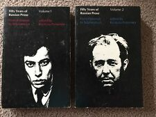 Fifty Years Of Russian Prose Edited By Krystyna Pomorska Vol 1 And 2