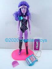"Jem and the Holograms Hasbro 1986 12.5"" Doll Synergy w/ Cassette Tape"
