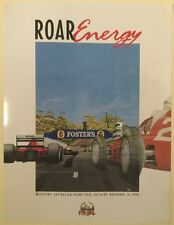 Adelaide Roar Energy - Foster's Formula 1 Grand Prix 1990