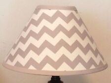 Gray Chevron Children's Fabric Lamp Shade M2M Pottery Barn Kids Bedding