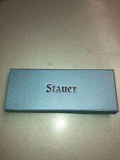 vintage stauer heritage watch box