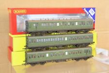 HORNBY R4718A R4719A R4720A TMC WEATHERED RAKE of 3 SOUTHERN MAUNSELL 48' COACH