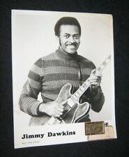ORIGINAL 1970s JIMMY DAWKINS  Publicity 8x10 CHITLIN CIRCUIT TONY VON