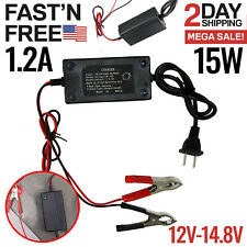 12V 3.3A VMAX BC1204 Battery Smart Charger//Maintainer for Big Dog MOTORCYCLES