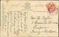 Elsie Taylor. 1 Council Houses, Simpson,  Fenny Stratford 1927 Mother    QS.480