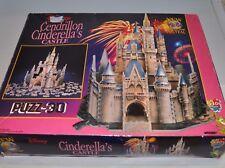 CINDERELLA CASTLE Disney Puzzle PUZZ-3D (miss 3 pieces) Wrebbit