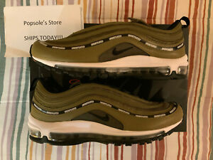 Nike Air Max 97 UNDFTD Black Militia Green Undefeated Men's 9.5 ✅ SHIPS TODAY ✅