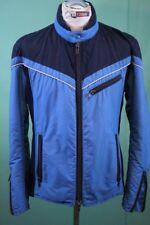 Orig 70er vintage Ski Jacke Gr 54/ca L Schweizer Team retro blau Polyamid
