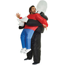 Morphcostumes - Slenderman Pick Me Up - Adult Inflatable Costume