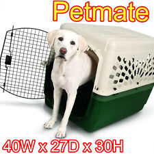 Dog Crate Kennel XL Large Dogs Portable Travel Pet Carrier Bed Home Secure 40""