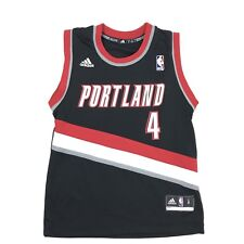 Adidas Portland Trailblazer Nolan Smith #4 Youth Small Basketball Jersey