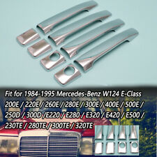 1984-1995 Benz W124 E-Class E280 E300 E320 E420 E500 Chrome Door Handle Cover
