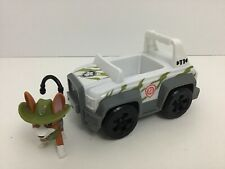 Paw patrol tracker figure jeep vehicle monkey temple playset replacement pieces