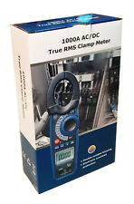 CEM DT-3347 AC/DC 1000 Amp Clamp-on Current Voltage Capacitance Frequency Meter