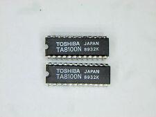"TA8100N  ""Original"" Toshiba  24P DIP IC  2  pcs"