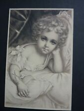 FANTAISIES Enfant old postcard vintage fantasy fillette  carte  illustrateur