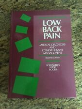 Low Back Pain Medical Diagnosis and Comprehensive Management 2nd Edition by Bo..