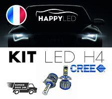 Kit LED Haute puissance LUX© H4 x2 6000k Anti-erreur 8000 Lumen Waterproof Xenon