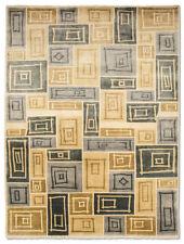 Tapis multicolores avec des motifs Abstrait pour la maison en 100% laine