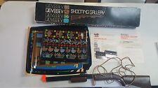 Magnavox Odyssey Shooting Gallery Rifle w/Original Box, Screens , 3 Games Book