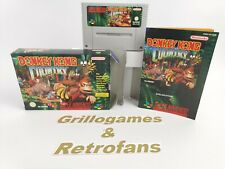 "Super Nintendo Spiel | "" Donkey Kong Country 1 "" | Snes | Ovp | Pal |"