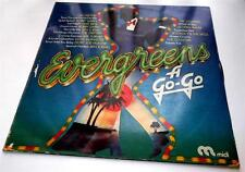 Evergreens A Go Go 1974  Midi  Original 1950s  & 1960s R&B  Soul Pop Import  VG+