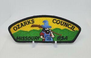 Late 80's Ozarks Council Missouri BSA Boy Scouts Shoulder Patch