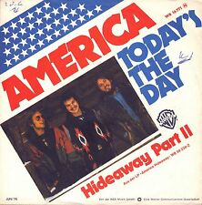 "7"" America – Today's The Day // Germany 1976"