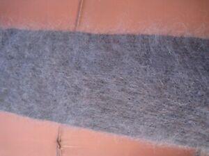 Scarve Scarf Handknitted goat down longhair yarn Cashmere Angora fuzzy warm soft
