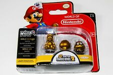 WORLD OF NINTENDO MICRO LAND GOLD SERIES : MARIO - SUPER MUSHROOM - GOOMBA